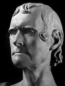 Thomas Jefferson Life Mask