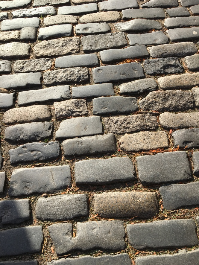 Philadelphia cobblestones