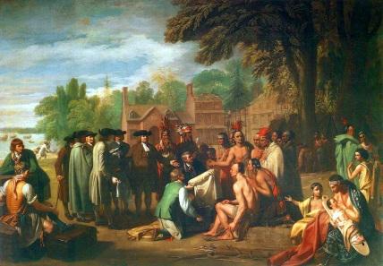 William Penn Peace Treaty Lenape Indians
