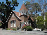 Sunol little brown church