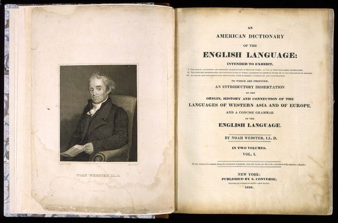 Inspire Noah Webster 1828 Dictionary