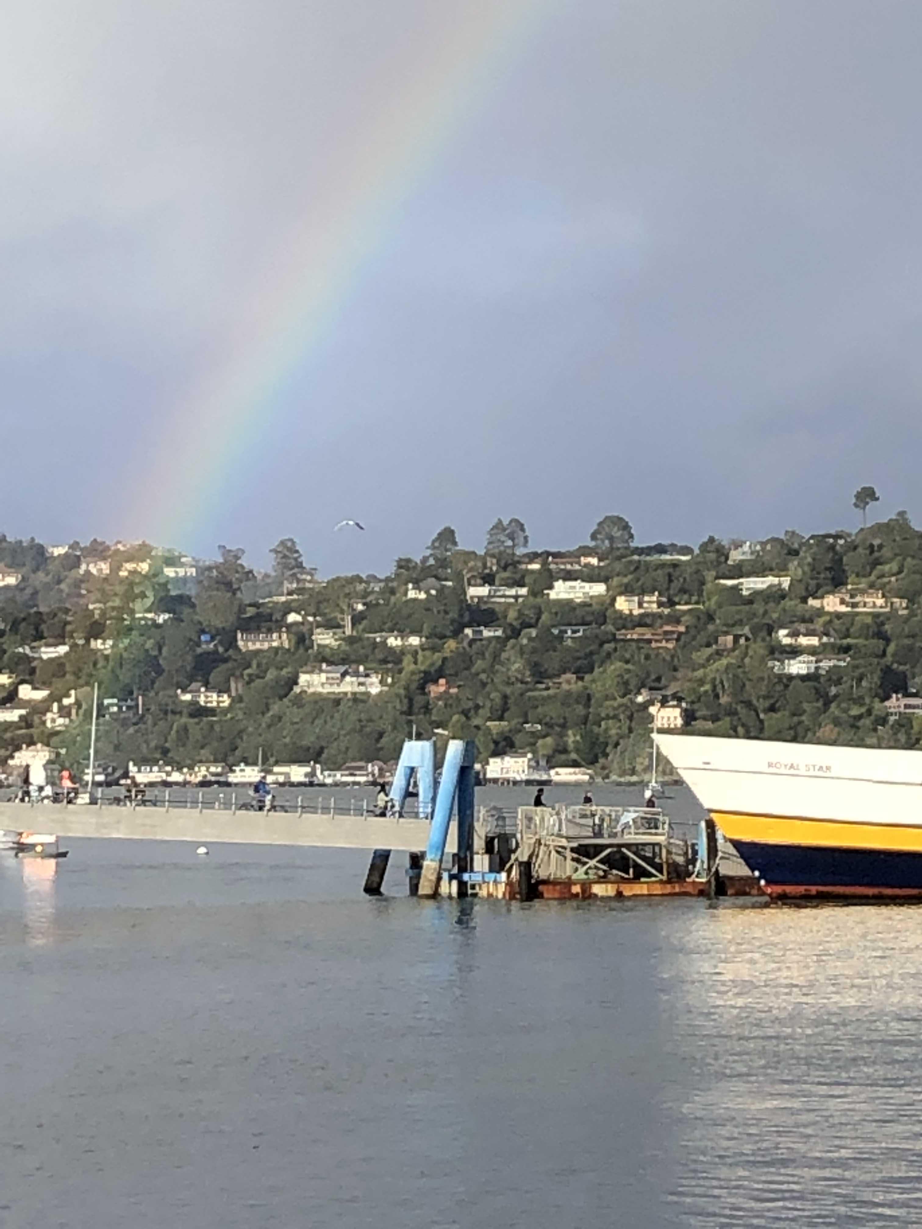 Sausalito Rainbow 3