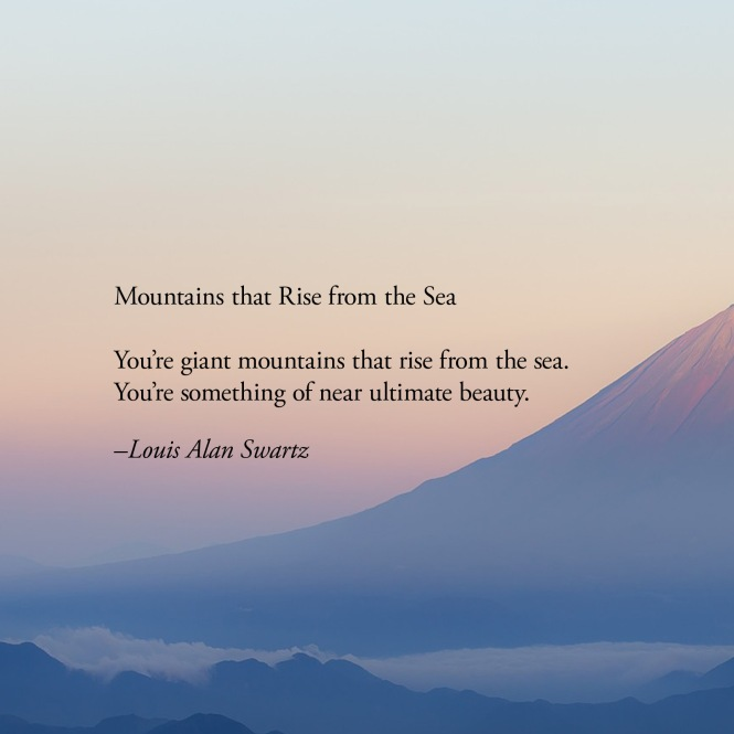 Louis Swartz Mountains that Rise from the Sea