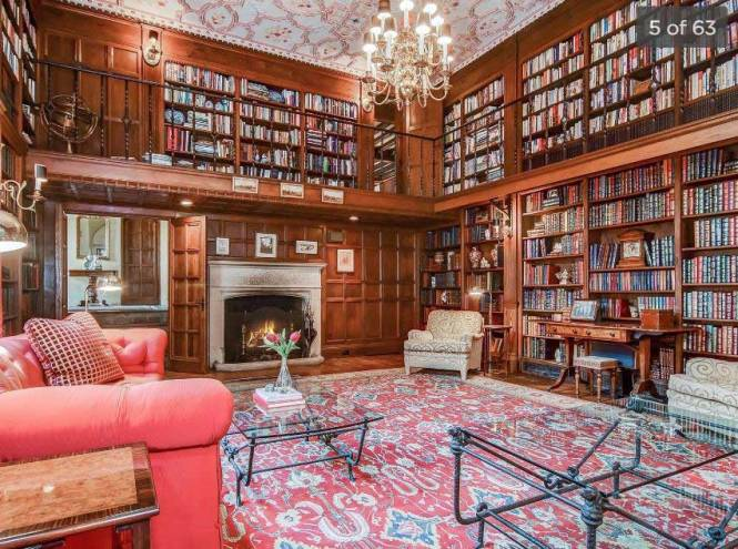 Mansion library 1