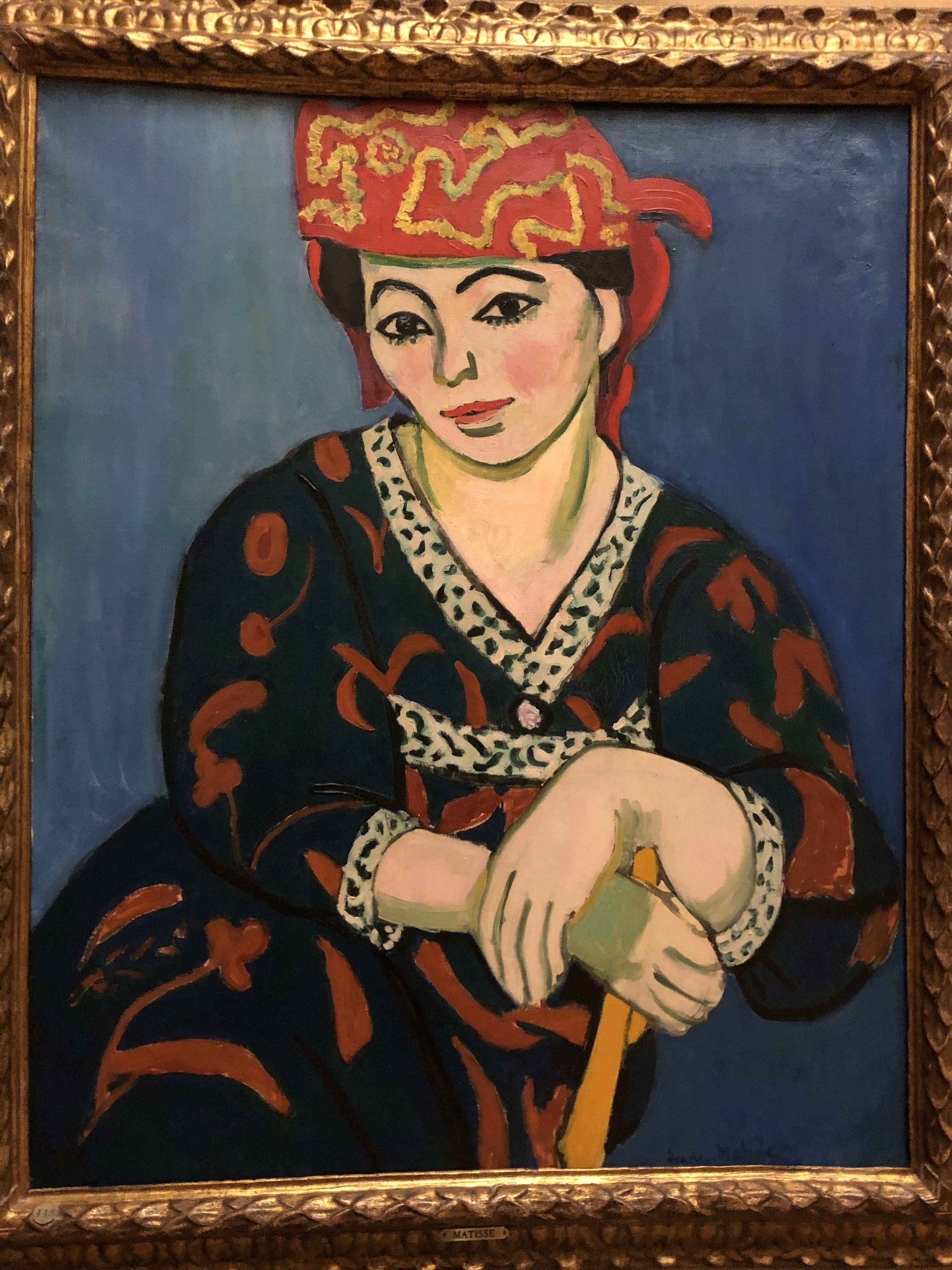 Barnes 11 Matisse Woman