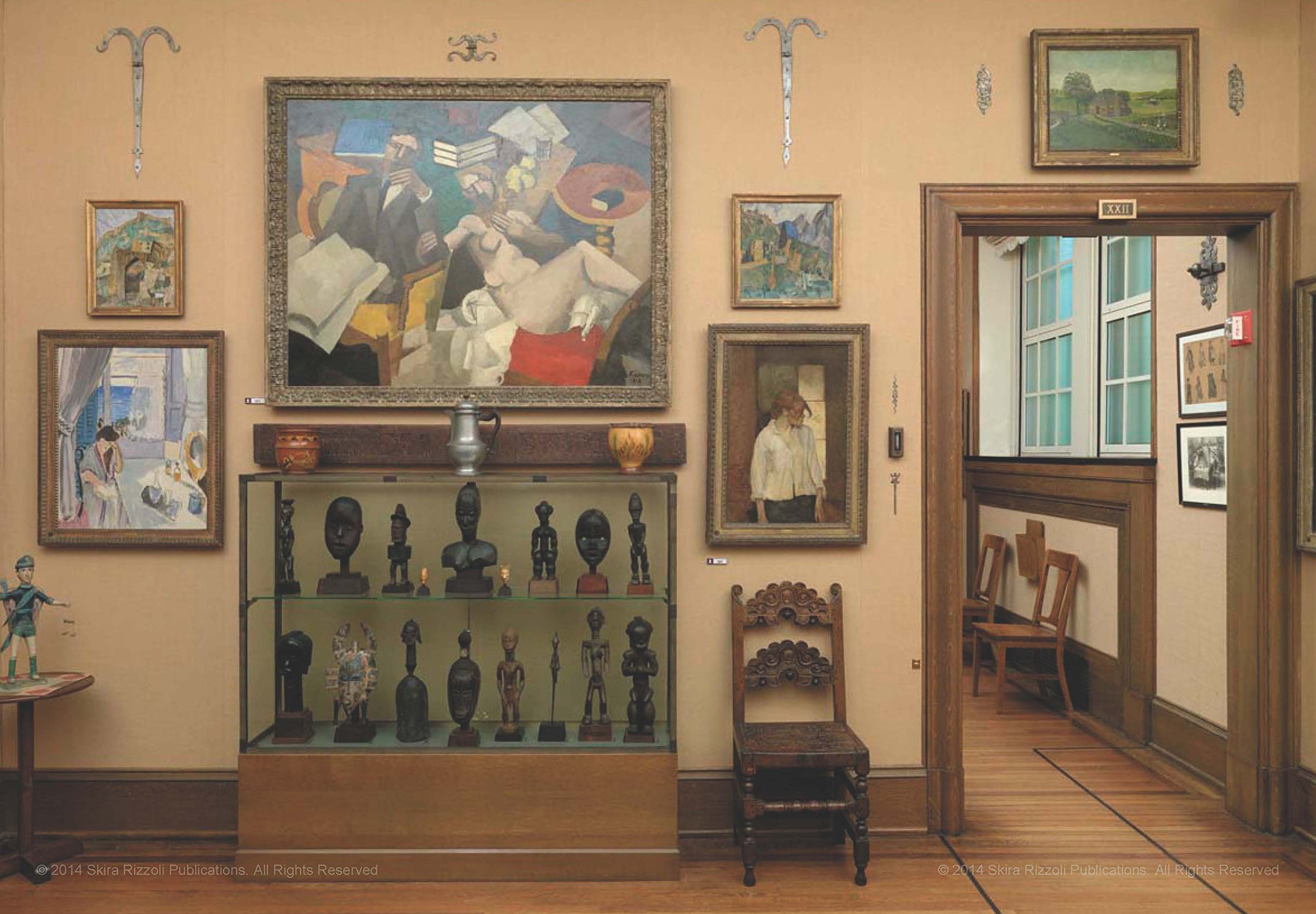 Barnes 3 African Art between Matisse and Tolouse Lautrec