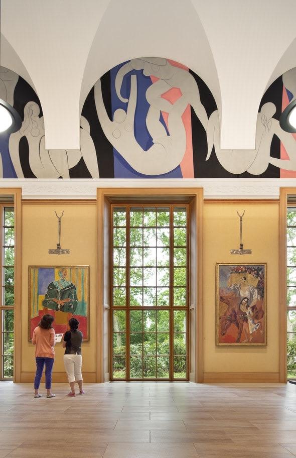 Barnes 4 Matisse Mural