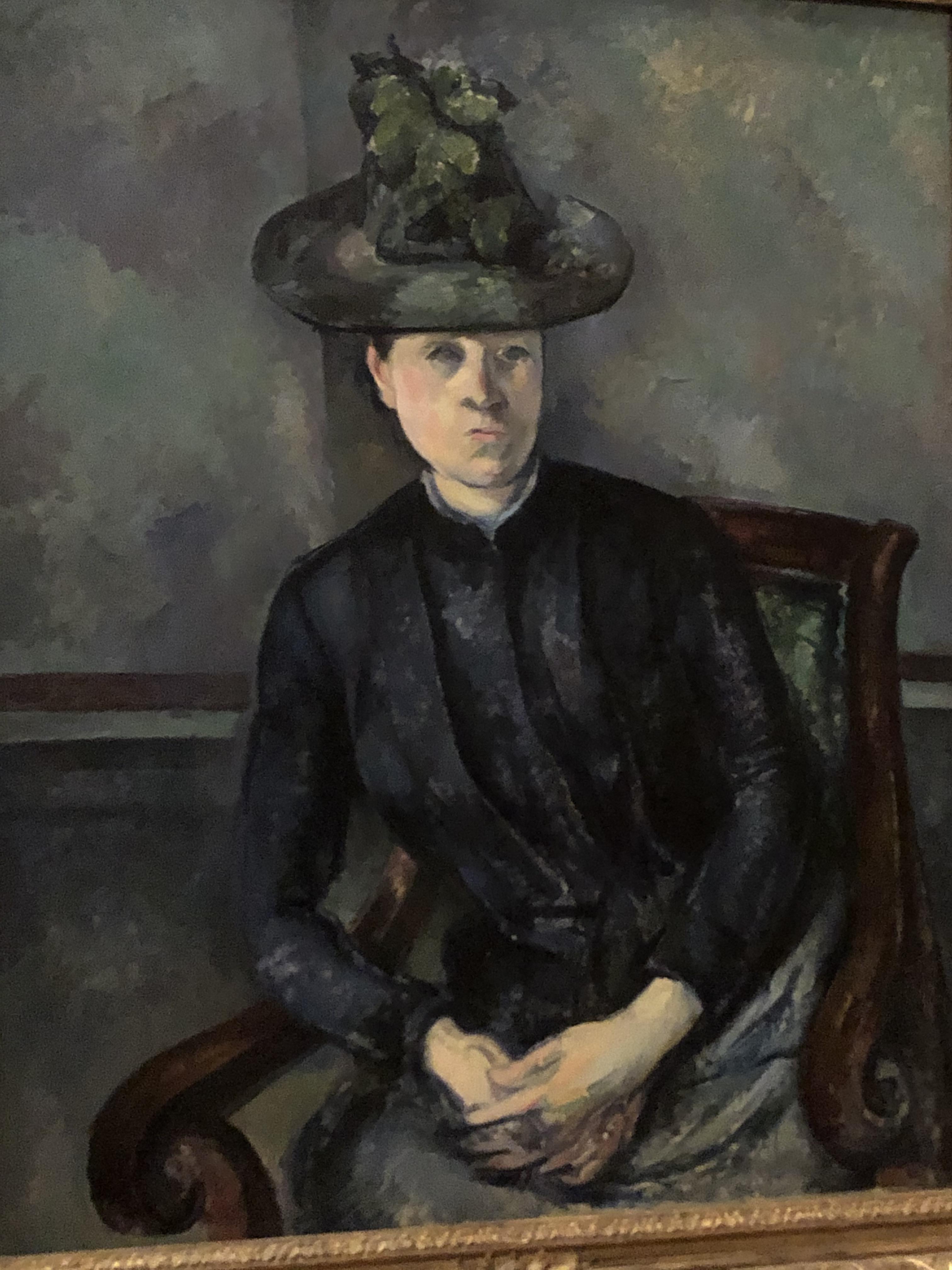 Barnes 6 Cezanne's wife