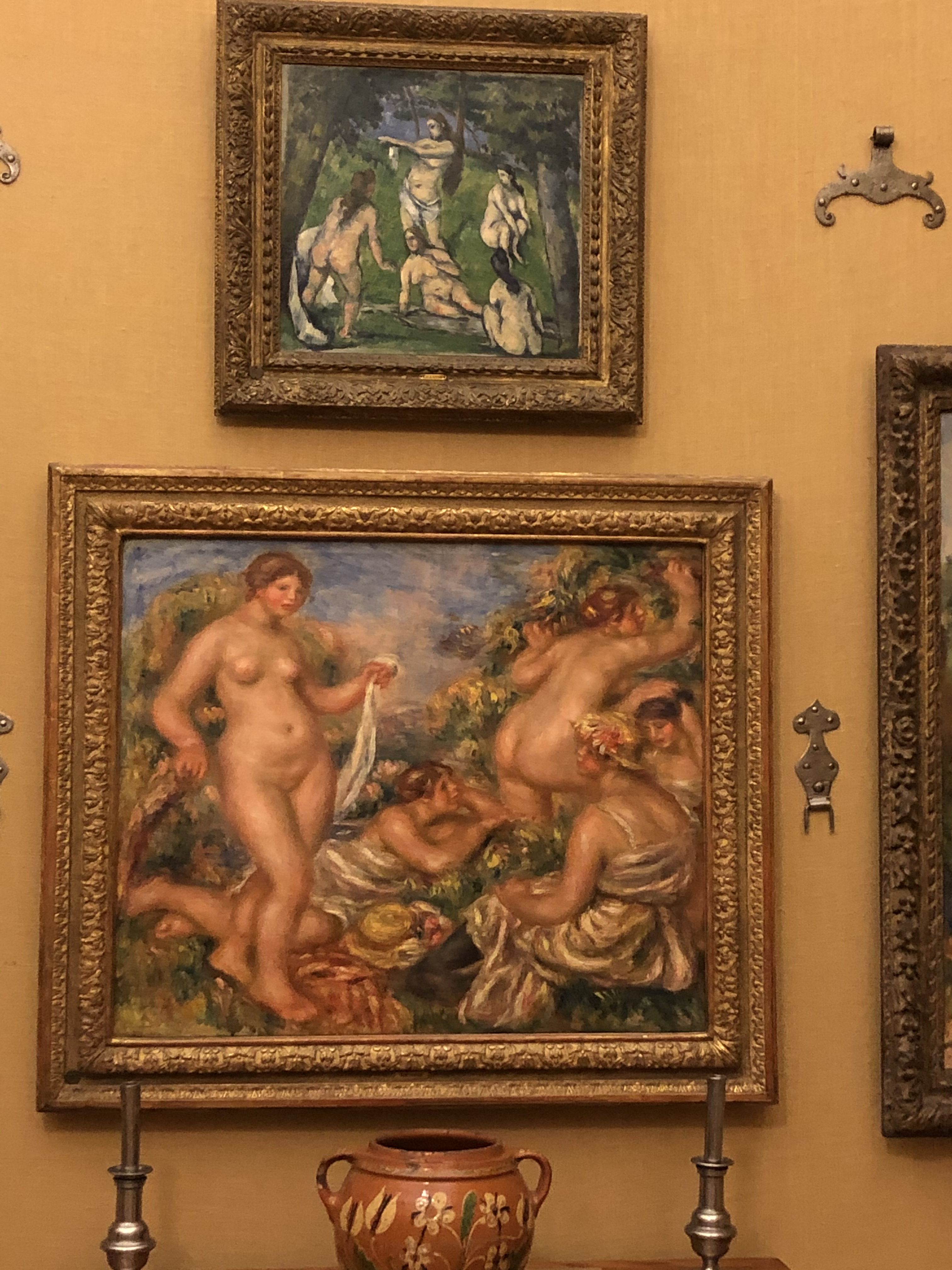 Barnes 8 Renoir and Cezanne Bathers